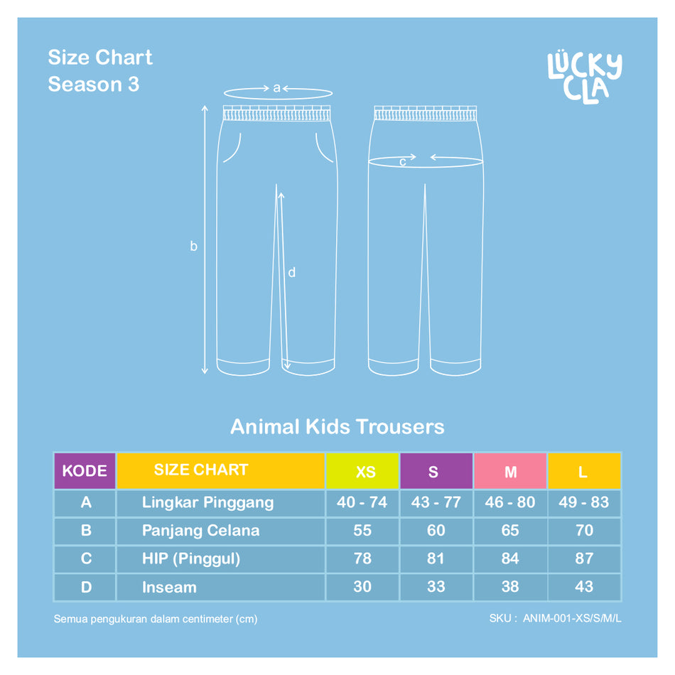 Animal Kids Trousers - LuckyCla