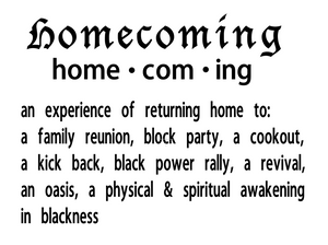 Homecoming Meaning Home Decor