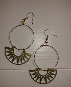 Tribal Touch Hoops