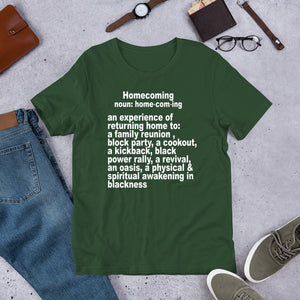 Homecoming Meaning Tshirt