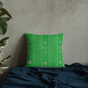 Oh so pretty tribal inspired throw pillow