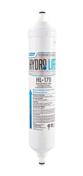 Hydro Life 170 - QC Under Counter Filter Kit (12 per case)