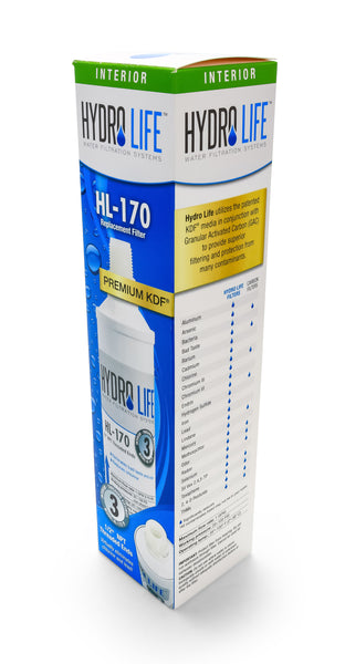 Hydro Life 170 - TF Replacement Filter (12 per case)