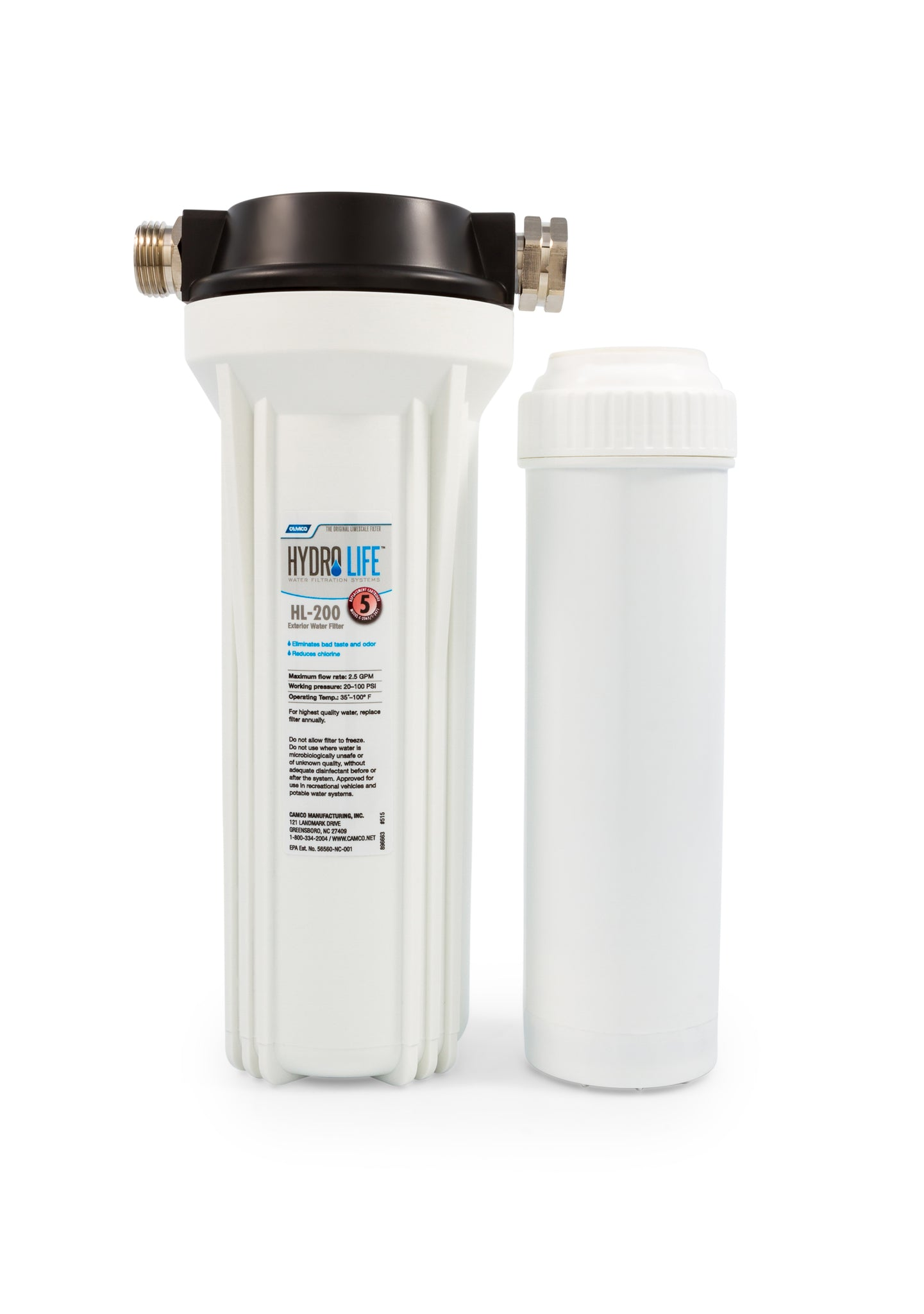 Hydro Life 200 - External Filter Kit Including C 2063 Ctg (6 / case)
