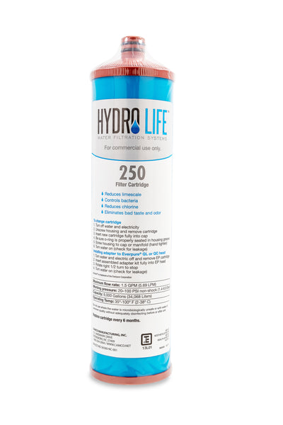 Hydro Life Commercial 250 - Cartridge, 1lb KDF