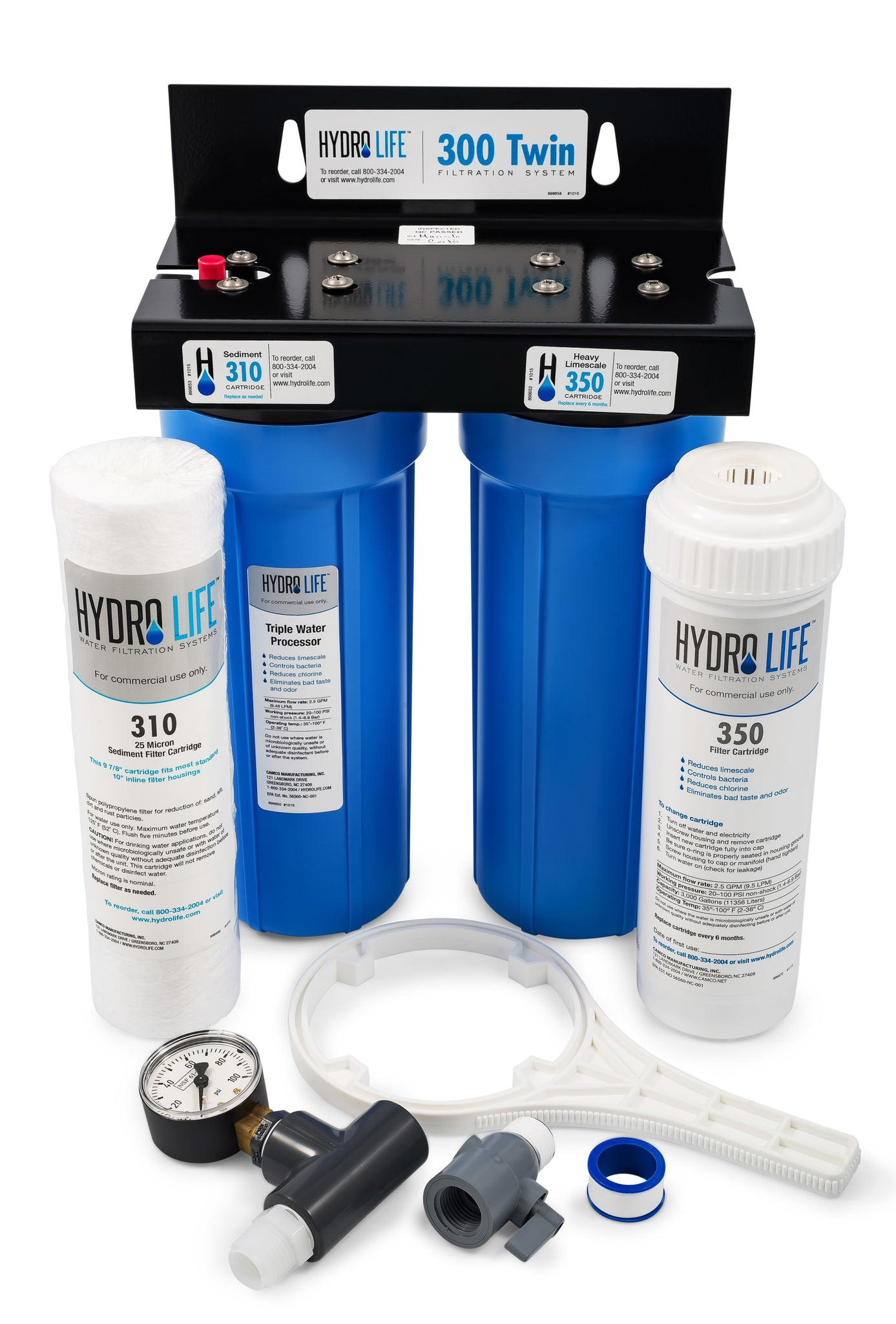Hydro Life Commercial 300 - Twin Kit