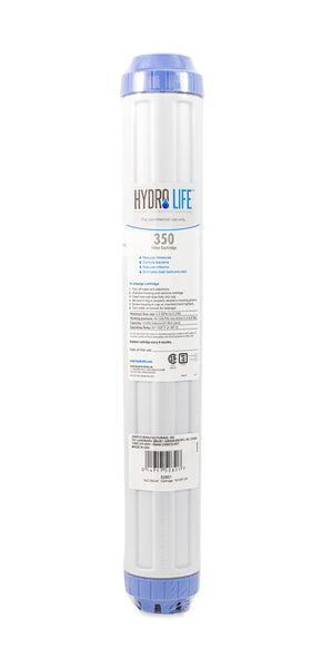 Hydro Life Commercial 350-HF Replacement Cartridge, 1 lb. KDF, 20-Inch