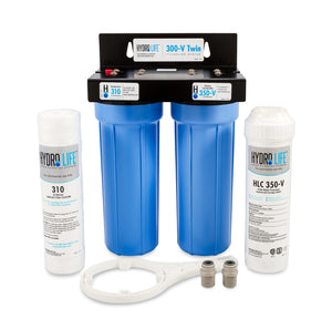 Camco Hydro Life 300-V Twin Value Series Water Filter