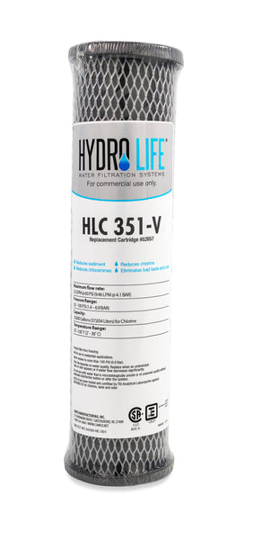 Hydro Life Commercial 300-V Cartridge, 10-Inch