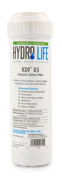 Hydro Life Hydroponics - KDF 85 Replacement Cartridge