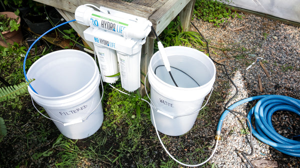 Hydro Life Hydroponics - Twin Reverse Osmosis