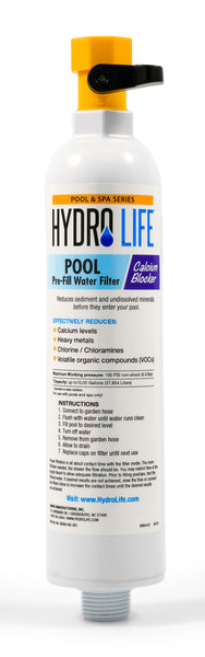 Hydro Life Pool & Spa - Pool Filter with Calcium Blocker
