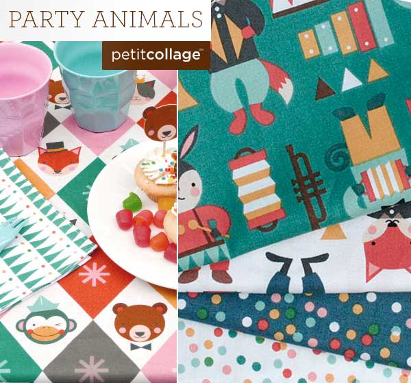 Party Animals by Petite Collage