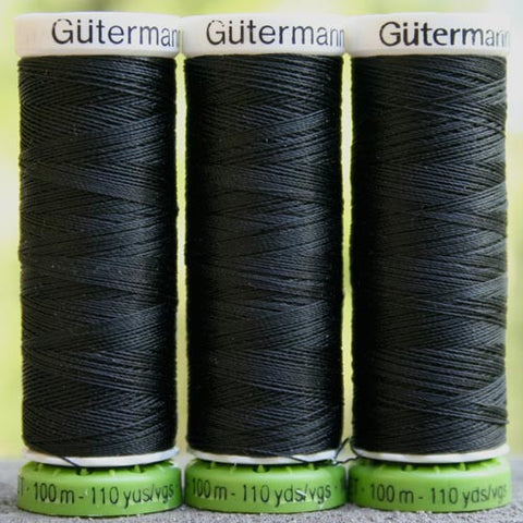 Recycled Polyester Thread 00-000 Black