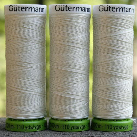 Recycled Polyester Thread 03-001 Antique White