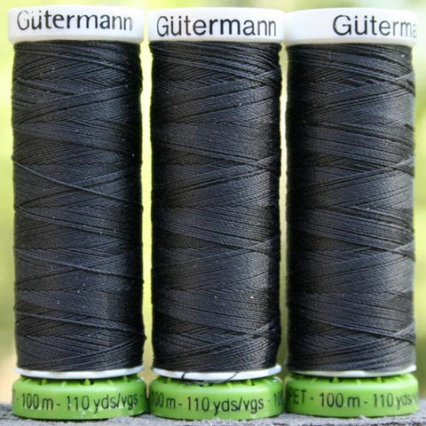 Recycled Polyester Thread 38-036 Charcoal