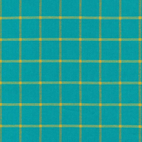 Window Dressing - Turquoise/Amber