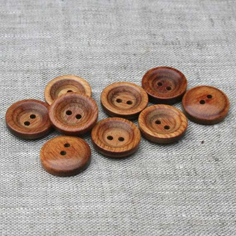 Wooden Buttons | HoneyBeGood