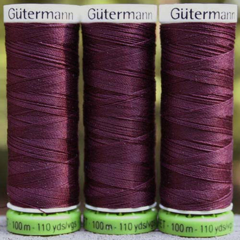 Recycled Polyester Thread 14-130 Wine