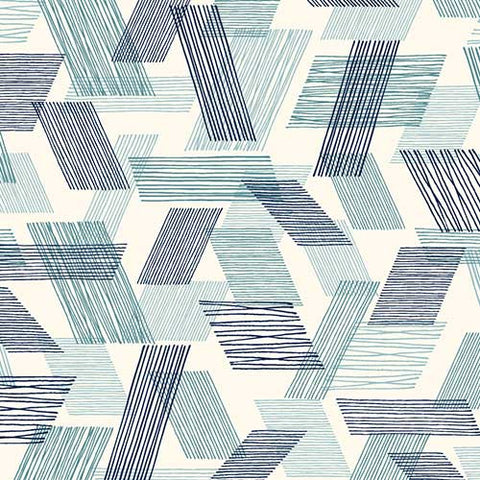 Threads (Double Gauze) - Warp and Weft | Teal