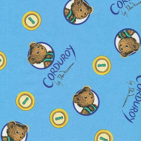 Corduroy the Teddy Bear fabric | HoneyBeGood