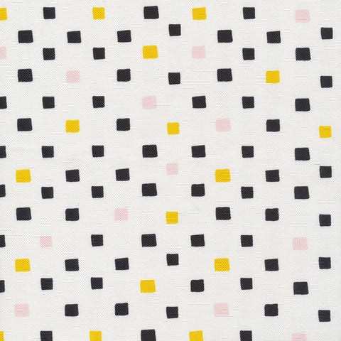 Printed Shapes CANVAS -  Squared White
