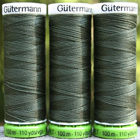 Recycled Polyester Thread 30-269 Khaki Green