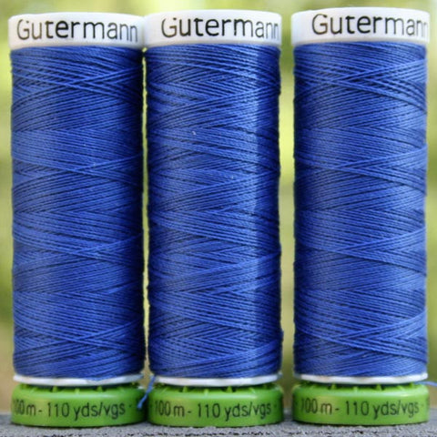 Recycled Polyester Thread 21-315 Cobalt Blue