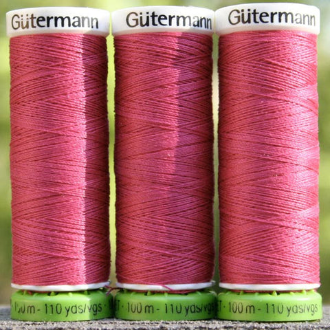 Recycled Polyester Thread 18-382 Raspberry