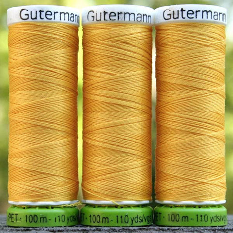 Recycled Polyester Thread 08-417 Saffron