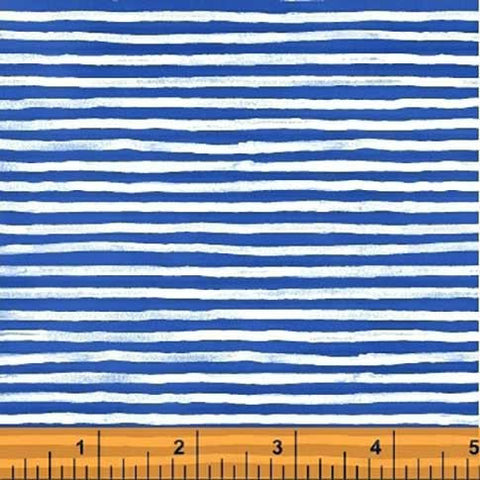 Hot Dogs and Cool Cats - Stripe | Blue