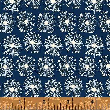 Hand Picked - Flower Burst | Navy