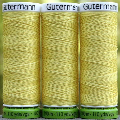 Recycled Polyester Thread 07-852 Lemon Peel