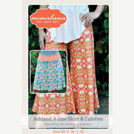 Ashland A-line Skirt and Culottes-Adult