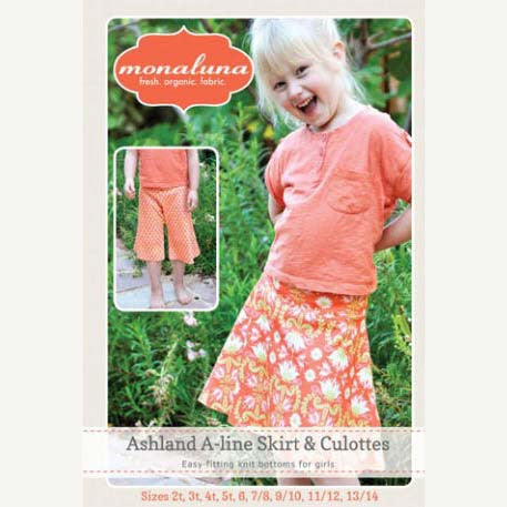 Ashland A-line Skirt and Culottes for Girls