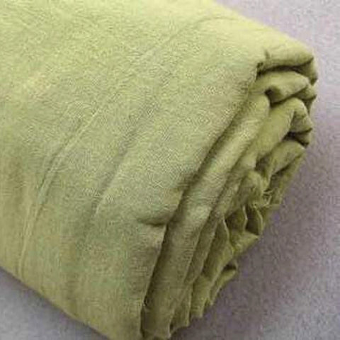 Naturally Dyed Voile | Leaf Green