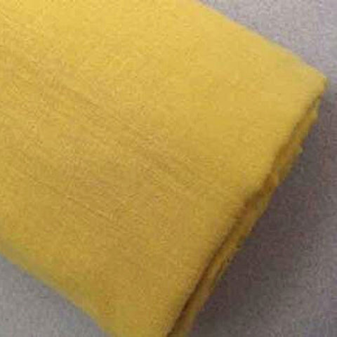 Naturally Dyed Voile | Soft Yellow