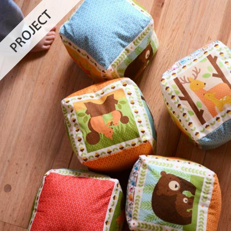 Forest Parade Play Blocks - Free Pattern