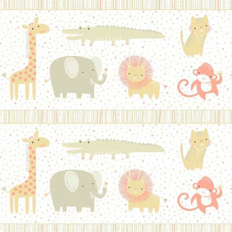 Safari Sweet II - Border Print | Khaki