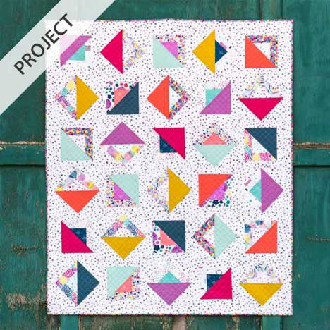 Brush Strokes - free quilt pattern