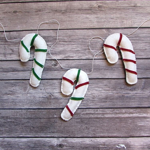 Kit | Candy Cane Garland