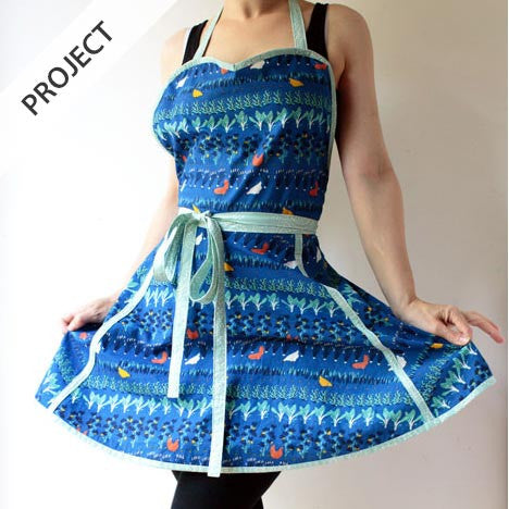Retro Apron - Free Tutorial