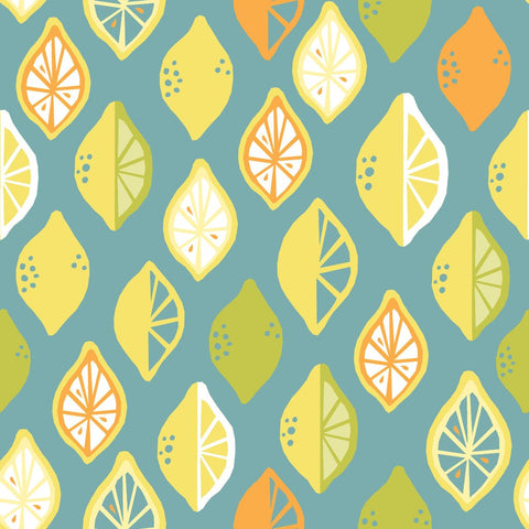 Juicy Collection CANVAS - Lemon Lime