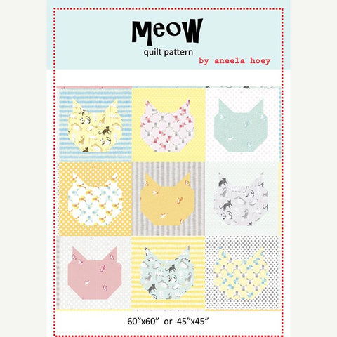 Meow Quilt Pattern