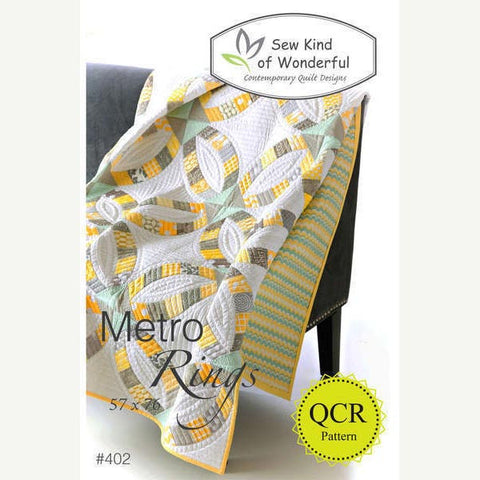 Metro Rings Quilt Pattern by Sew Kind of Wonderful | HoneyBeGood