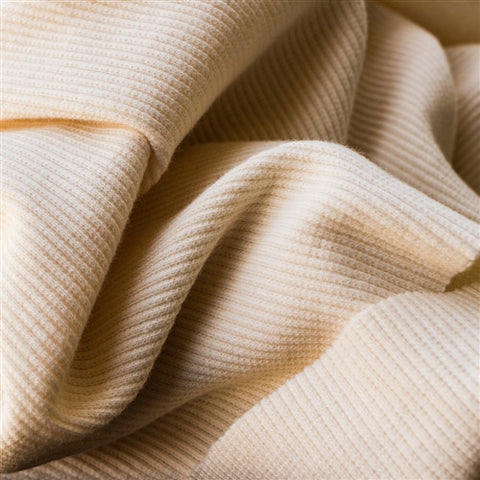 Organic Ribbed Knit by Birch Fabrics | HoneyBeGood