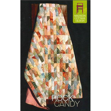 Rock Candy Quilt Pattern by Madison Cottage Design | HoneyBeGood