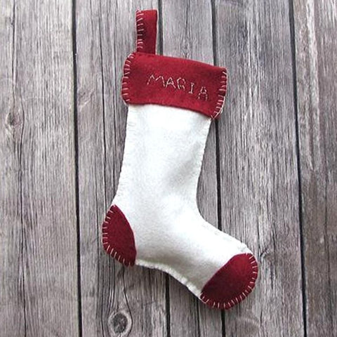 Kit | Mini Stocking White