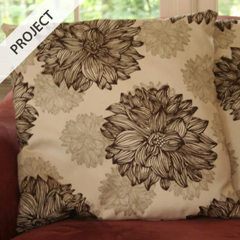 Sew Easy Pillow Covers - Free Tutorial