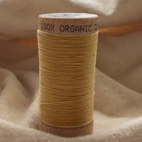 Organic Cotton Thread 4802 Straw